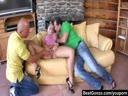 Screenshot for Горячее групповое порно блондинки с большой жопой
